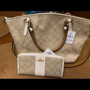 Brand new Coach purse and wallet, both NWT